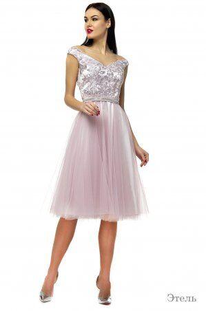 Angel PROVOCATION: Платье Этель пудра - фото 1