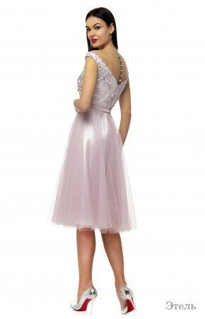 Angel PROVOCATION: Платье Этель пудра - фото 2
