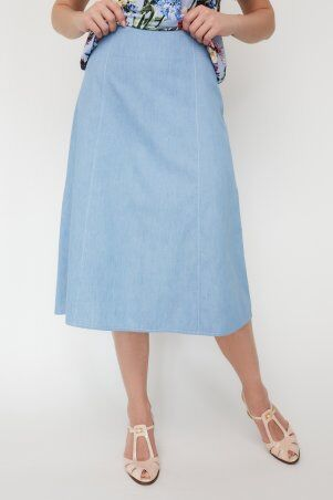 Miledi: Юбка Инди светло-голубой 101436 - фото 1