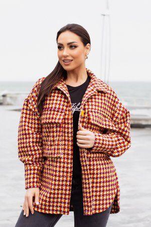 Modna Anka: Куртка-рубашка 215275 терракотовый 215275 - фото 2