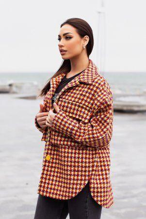 Modna Anka: Куртка-рубашка 215275 терракотовый 215275 - фото 4