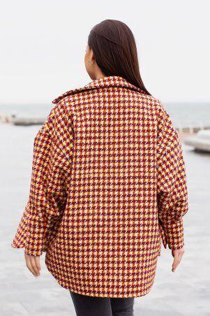 Modna Anka: Куртка-рубашка 215275 терракотовый 215275 - фото 6
