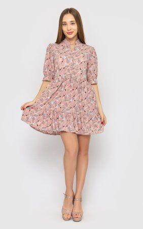 Santali: Платье-мини с цветочным принтом 4228 - фото 1