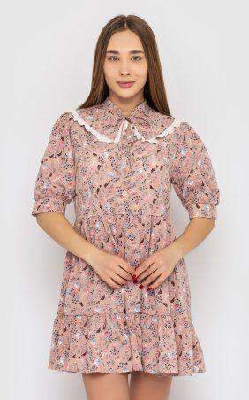 Santali: Платье-мини с цветочным принтом 4228 - фото 2