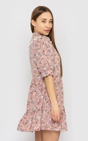 Santali: Платье-мини с цветочным принтом 4228 - фото 3