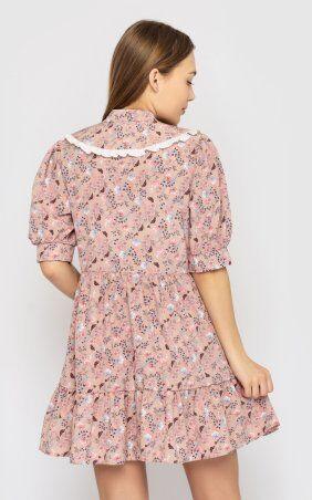 Santali: Платье-мини с цветочным принтом 4228 - фото 4