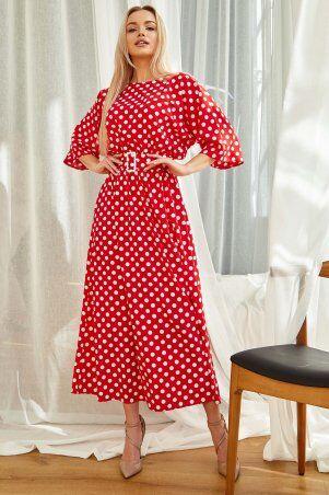 Jadone Fashion: Платье Ролана красный - фото 1
