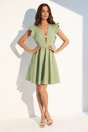 It Elle: Летнее платье оливкового оттенка Римма 51270 - фото 1