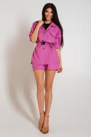 Jadone Fashion: Костюм с шортами Майами фуксия - фото 1