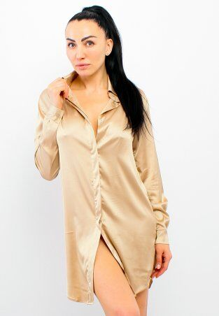 GHAZEL: Шелковое Платье Короткое 17111-72 - фото 1