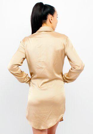 GHAZEL: Шелковое Платье Короткое 17111-72 - фото 3