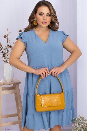 Glem: Платье Ярия-Б б/р джинс p70483 - фото 1