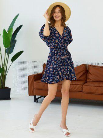 CRASET: Платье Адриана KPC синий - фото 1