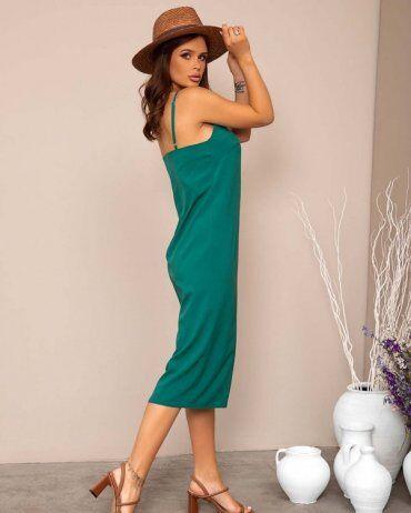 ISSA PLUS: Платья 12785_зеленый - фото 2