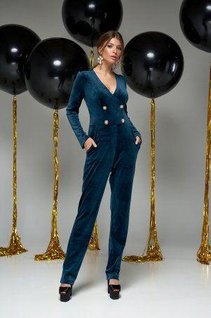 Jadone Fashion: Комбинезон Лоренс Изумруд - фото 1