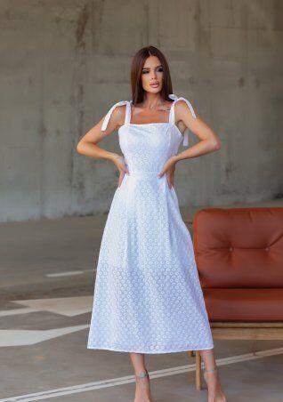 ISSA PLUS: Платья 12833_белый - фото 1