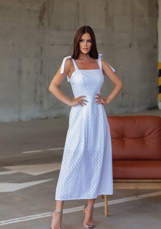 ISSA PLUS: Платья 12833_белый - фото 2