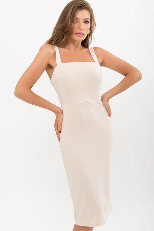 Glem: Платье Абаль б/р бежевый p72108 - фото 2