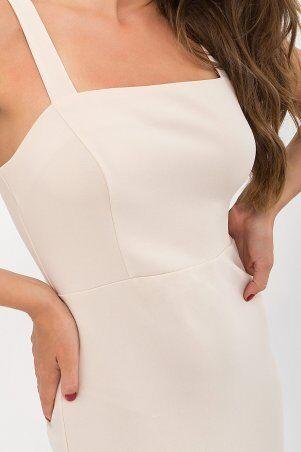 Glem: Платье Абаль б/р бежевый p72108 - фото 4