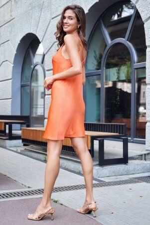 It Elle: Шелковое платье-комбинация оранжевого цвета Анна 51308 - фото 2