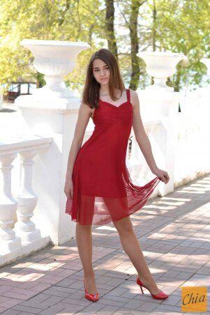МОДА ОПТ: Коктейльное платье 20 - фото 5