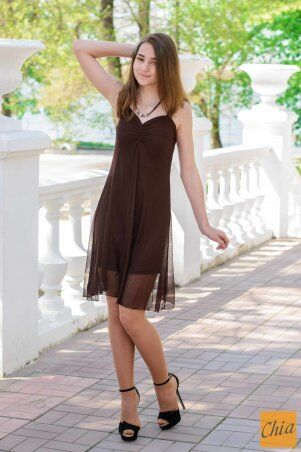 МОДА ОПТ: Коктейльное платье 20 - фото 8