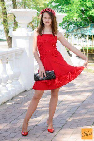 МОДА ОПТ: Коктейльное платье 21 - фото 3