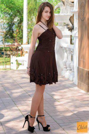 МОДА ОПТ: Коктейльное платье 21 - фото 5
