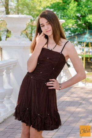 МОДА ОПТ: Коктейльное платье 21 - фото 6