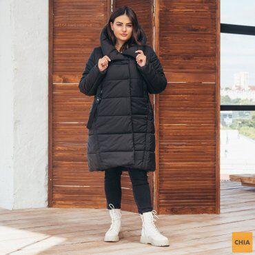 МОДА ОПТ: Куртка женская удлиненная зимняя 71 - фото 1