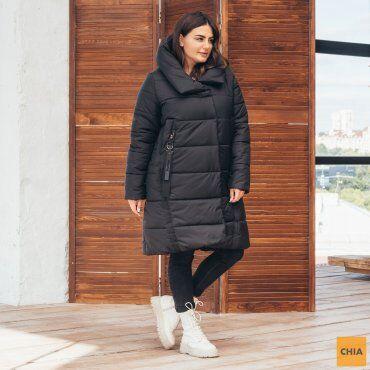 МОДА ОПТ: Куртка женская удлиненная зимняя 71 - фото 2
