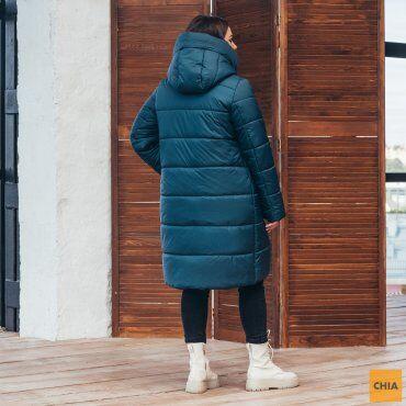 МОДА ОПТ: Куртка женская удлиненная зимняя 71 - фото 20