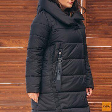 МОДА ОПТ: Куртка женская удлиненная зимняя 71 - фото 23