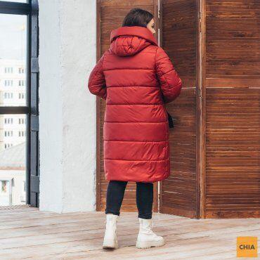 МОДА ОПТ: Куртка женская удлиненная зимняя 71 - фото 7