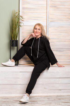 Catrina: Стильный женский костюм со штанами Джогер и худи 2186 - фото 1
