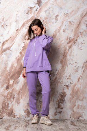 Catrina: Стильный женский костюм со штанами Джогер и худи 2181 - фото 1