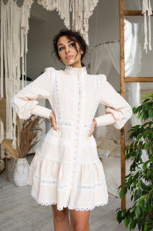 Zuhvala: Платье Смарта топленое молоко - фото 1