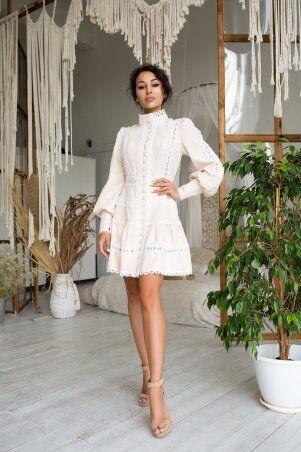 Zuhvala: Платье Смарта топленое молоко - фото 2