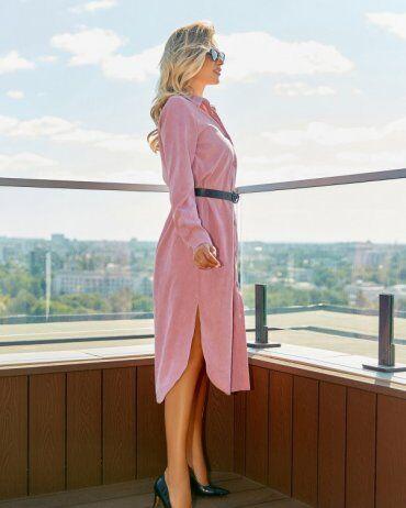 ISSA PLUS: Платья 13056_розовый - фото 2