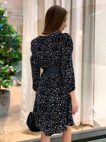 InRed: Платье с мелким узором 7758 - фото 3