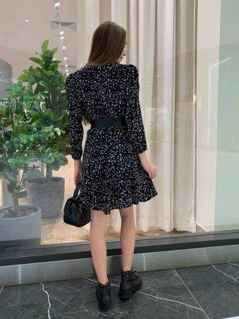 InRed: Платье с мелким узором 7758 - фото 4