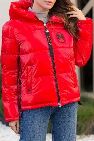 Glem: Куртка 287 14-красный p73718 - фото 4