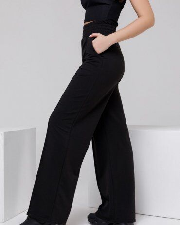 ISSA PLUS: Спортивные штаны 12312A_черный - фото 2