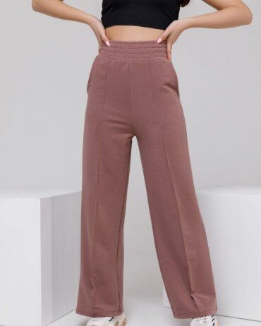 ISSA PLUS: Спортивные штаны 12312A_коричневый - фото 1