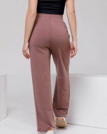 ISSA PLUS: Спортивные штаны 12312A_коричневый - фото 3