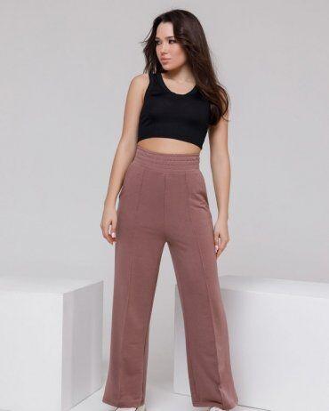 ISSA PLUS: Спортивные штаны 12312A_коричневый - фото 4