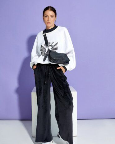 ISSA PLUS: Спортивные штаны 12915_черный - фото 1