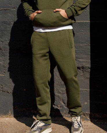 ISSA PLUS: Спортивные штаны GN-405_хаки - фото 1