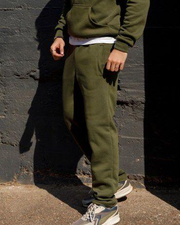 ISSA PLUS: Спортивные штаны GN-405_хаки - фото 2