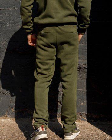 ISSA PLUS: Спортивные штаны GN-405_хаки - фото 3